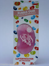 (2,70 €/unidad) 1x Jelly Belly ® 3d beans ambientadores gel Bubble Gum chicle
