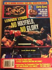 The Ring Magazine August 1998, Lennox Lewis, No Holyfield, No Glory