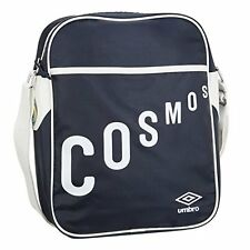 NEW York Cosmos Retrò Borsa A Tracolla Messenger 30312u-N84 Scuro Blu Navy / Bianco
