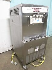 """TAYLOR Y754-33"" COMMERCIAL 2FLAVOR+TWIST SOFT-SERVE ICE CREAM,3Ph, WATER COOLED"