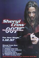 "40x60"" SUBWAY POSTER~Sheryl Crow 007 Tomorrow Never Dies 1997 James Bond Movie~"