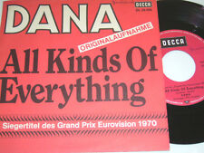 "7"" - Dana All Kinds of everything & Channel Breeze - MINT Grand Prix 1970 # 4530"