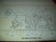1966 Ford Bronco Wiring Wireing Diagram 11X17 oversized copies!!!