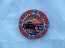 $5 SILVERTON 2001 LABOR DAY CHIP CAR 46 OR 47 CADILLAC