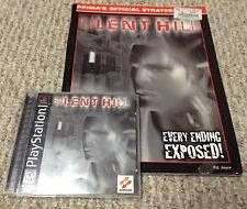 PS1 SILENT HILL NM DISC complete video game PlayStation w/ Strategy Guide
