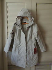 NORTH FACE JULIE WATERPROOF MOONLIGHT IVORY HOODED JACKET PARKA,  SMALL ~NWT