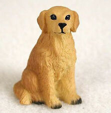 GOLDEN RETRIEVER TINY ONES DOG Figurine Statue Pet Lovers Gift Resin