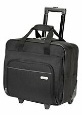 "Targus Metro Rolling Briefcase 16"" Wheeled Laptop Notebook Case Carry Bag Black"