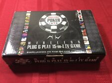 World Series of Poker Excalibur Wireless Plug & Play 15 in 1 TV Game, Free Ship
