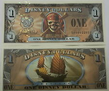 Disneyland 2007 Pirates of the Caribbean Empress $1 Disney Dollar E00001886E
