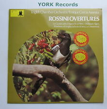 LGD 023 - ROSSINI - Overtures GARCIA ASENSIO English Chamber Orch - Ex LP Record