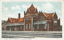 Hutchinson KS * Santa Fe RR Depot   1909 * Reno Co.