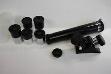".965"" 5 Piece Telescope Eyepiece Kit with Moon Filter, Diagonal, 3x Barlow Lens"