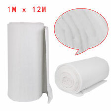 12M X 1M CAMPER VAN BOAT INSULATION 35MM THICK LIGHT WEIGHT DACRON POLYESTER