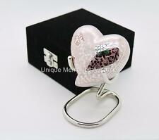 Regal Multicolour Butterfly Keepsake Heart Cremation Memorial Urn + Case + Stand
