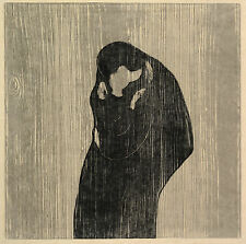 Edvard Munch Print Reproductions: The Kiss IV - Fine Art Print