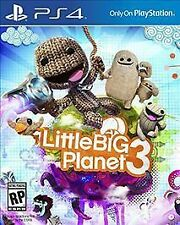 SONY PLAYSTATION 4 PS4 BIG LITTLE PLANET 3 BIGLITTLEPLANET 3 VIDEO GAME FREESHIP