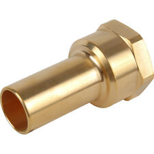 NEW Compressed Air Female Brass Stem Adaptor 15mm x 1/2 BSPT Each