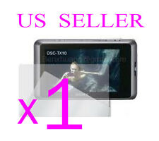 1x Sony CyberShot DSC-TX10 Clear LCD Screen Protector Guard Shield Film