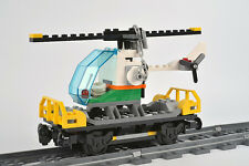 LEGO City Train Helicopter Wagon Brand New from set 60098