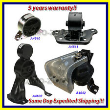 2003-2004 Mitsubishi Outlander 2.4L 2WD Engine Motor & Trans. Mount Set 4PCS