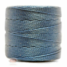 77 Yds. Super-Lon Cord #18 Blue Beading Crafting Stringing Crochet