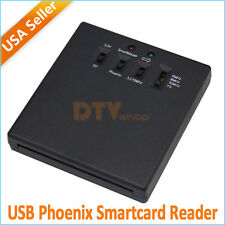 5 Crystal Phoenix USB Smartcard Reader TBS3102 for Windows Linux Dreambox