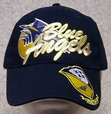 Embroidered Baseball Cap Military Navy Blue Angels NEW 1 hat size fits all