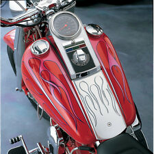 Drag Chrome Speedometer Speedo Dash Panel Cover Housing Kit Harley FX & EVO