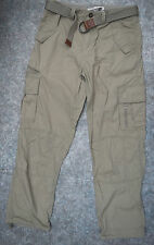 mens Stunning NEXT apparel cargo combat trouser pants 8 pockets W32R L31