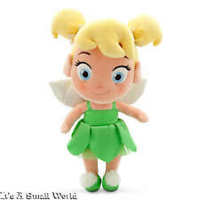 "Disney Store Toddler Tinker Bell Plush Doll Peter Pan Small 13"" NWT"