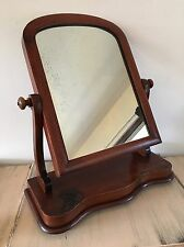 Lovely Antique Victorian Toilet / Dressing Table Swing Mirror