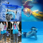 Camera Partner Waterproof DSLR Underwater Housing Case Pouch Dry For Canon Nikon