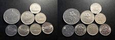 Malaisie - lot de x8 monnaies 1967 à 2001 !