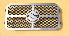SUZUKI GSF 600 BANDIT MIRROR POLISHED STAINLESS STEEL OIL COOLER RADIATOR COVER