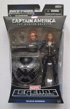 Captain America Winter Soldier Marvel Legends BAF Mandroid BLACK WIDOW 6inch NEW