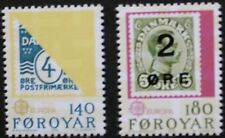 Europa stamps, 1979, Faroe Islands, SG ref: 42 & 43, 2 stamp set, MNH