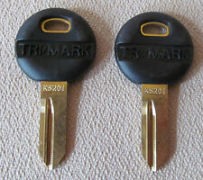 TRIMARK KEY Blank KS201~ 1 PAIR~ NEW For Key # 2001-2240 RV Travel Trailer Lock