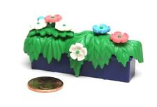 Playmobil Dollhouse Modern House Window Blue Box Planter w/ Flowers 3965
