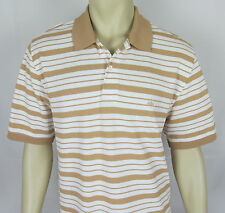 Mens Brooks Brothers Polo shirt short sleeve Pique fabric Golf – Stripes – L