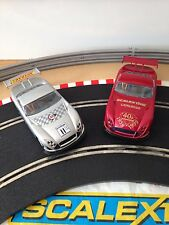 Scalextric Hornby 2x Limited Edition 12 Speed TVR's - C2245 & C2206