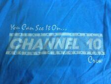 Vtg 50/50 Fairfax Virginia Cable Access Public Television Crew 10 Shirt XL USA