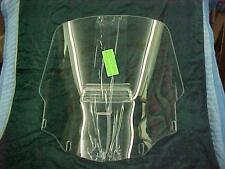 Honda GL1500 Goldwing Interstate Vented Wind Shield, 1988 & Up Clear, #166V