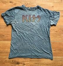 KISS Logo Amplified Shirt RARE Rock Metal Vintage AC/DC AC DC