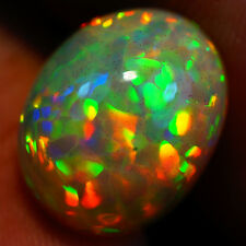 5.27 ct 14X11  Extreme Rare Pinfire Sparkles Broad Flash Museum Grade WELO OPAL