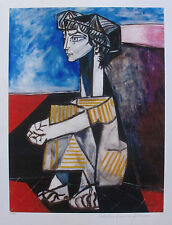 Pablo Picasso PORTRAIT OF JAQUELINE Estate Signed and Numbered Giclee