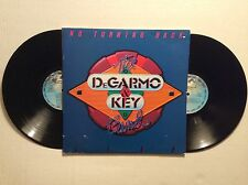 DEGARMO & KEY - NO TURNING BACK - LIVE vinyl 2 LPs Rare Christian Rock 1982