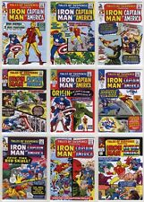 2015 Marvel Avengers Silver Age Tales Of Suspense chase card Set (41 cards) 1-41
