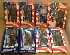 "Lot of 8 NEW Soldiers of the World VIETNAM WAR 12"" Action Figures: Eight MIP"