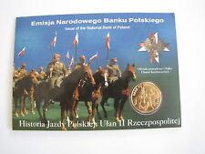 2 zł GN  historia jazdy polskiej ułan II RP blister ozdobny UNC
